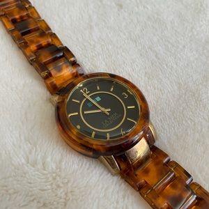 La Mer tortoise watch